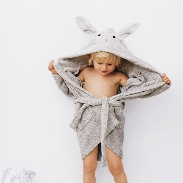 Bathroom essentials by Liewood! Extra soft-extra cute!! 🐰🐼🐱 #kidstowels #kidslinen