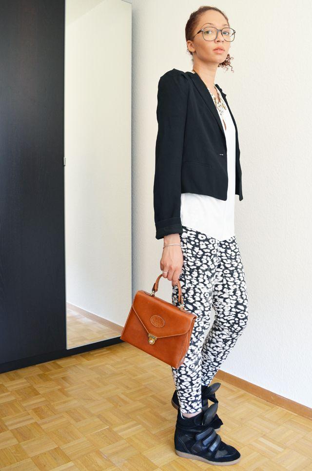 #mercredie #fashion #blogger #outfit #ootd #blog #mode #geneve #suisse #switzerland #h #HM #isabel #marant #beckett #black #sneakers #vanessa #bruno #la #redoute #spencer #hermes #vintage #laredoute #bag #leather