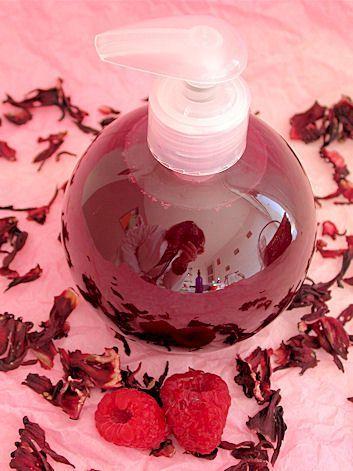 Lotion de rinçage capillaire Reflets Acajou aux fleurs d'Hibiscus