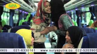 bus pariwisata Indonesia- YouTube