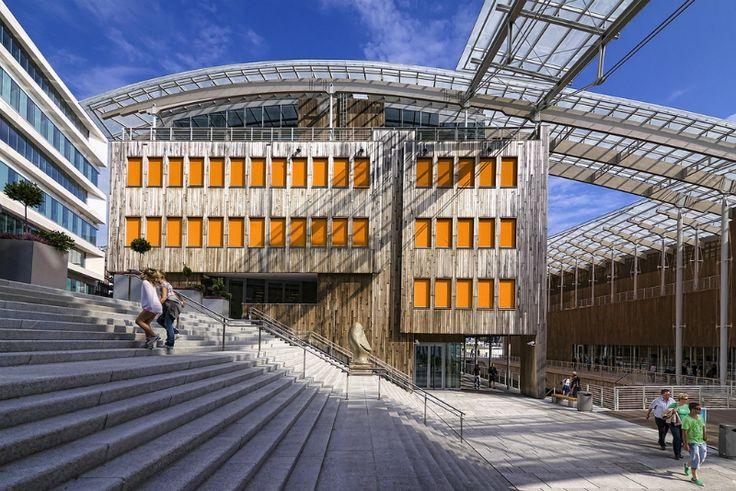 astrup norway | Astrup Fearnley Museum designed by Renzo Piano. Tjuvholmen, Oslo.