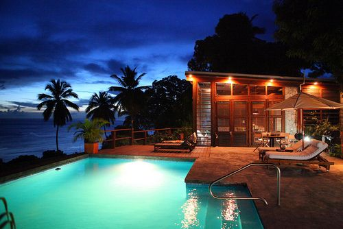 an evening dip: Dreams Houses, Dreams Vacations, Late Night, Luxury Vacations, Swim Pools, Book, Beaches Houses, Architecture Ideas, Resorts Style