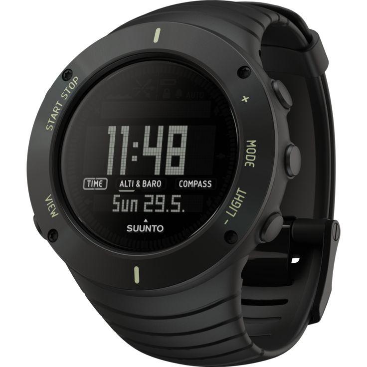 Suunto Core Multi-Function Outdoor Watch | Ultimate Black