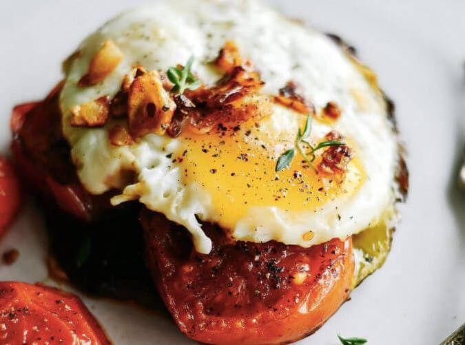 Pan-Roasted Portobello Egg Toast. Plus it's Whole30-friendly. Get the recipe.