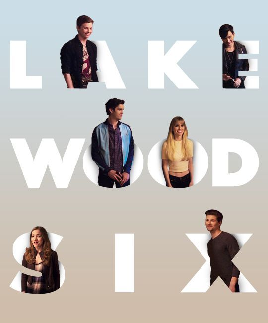 Noah, Audrey, Jake, Brooke, Emma and Kieran. AKA the Lakewood Six.