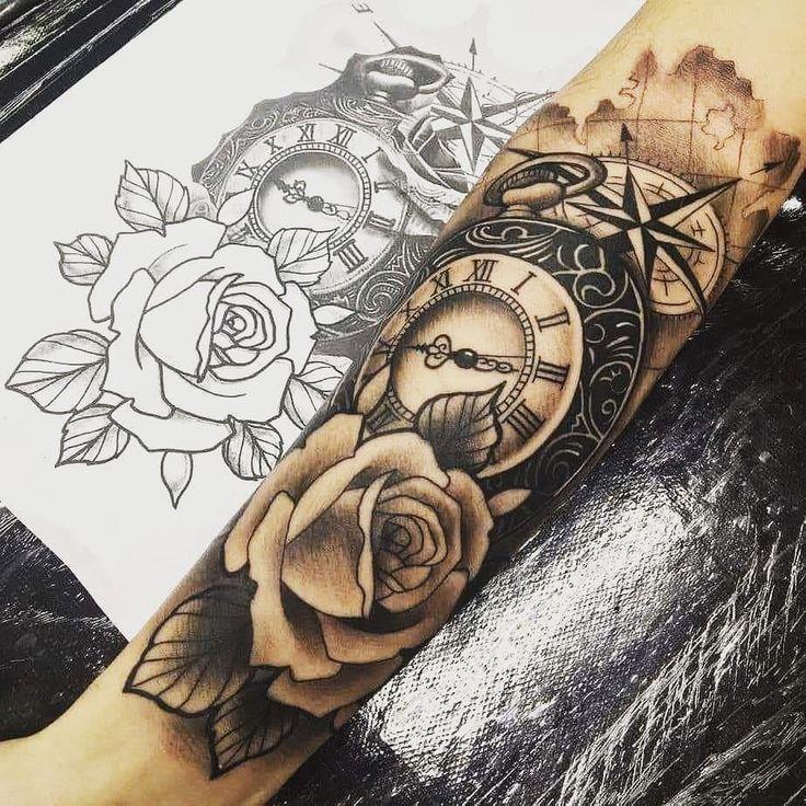 Tattoo Trends – # ZEIT # VIDA # AMOR # ZEIT # ZEIT