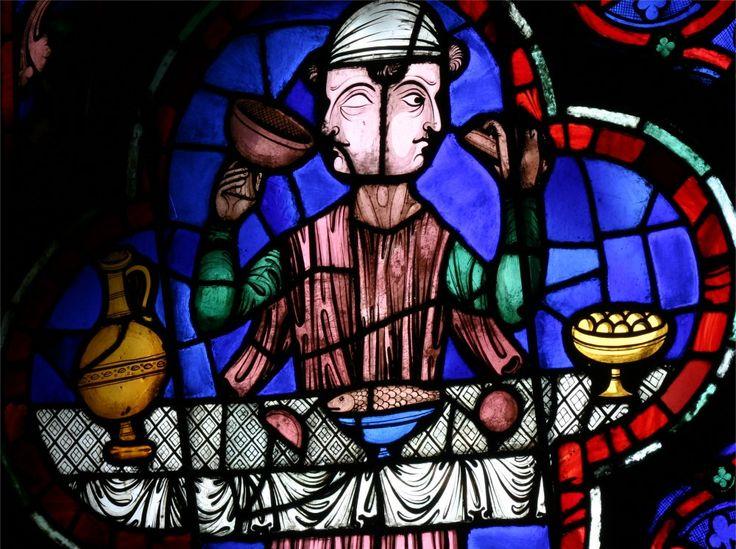 Cathédrale notre Dame de Paris, rosace ouest, Janus