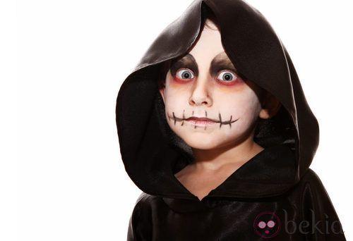 Maquillaje de la muerte para Halloween