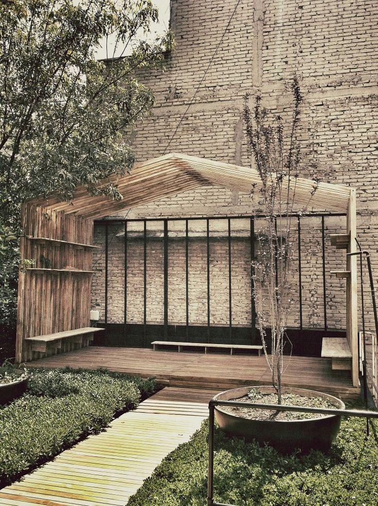 Galer a de casa del agua thinc h ctor coss 44 maison for Home node b architecture
