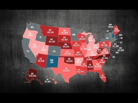 Vintage Business Insider Animated map shows which states are the biggest winners and losers from u