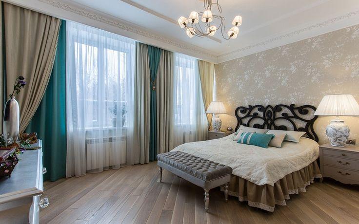 спальня: фото дизайна интерьера - автор Архитектурное бюро Полозовой Марии и Пискуновой Любови