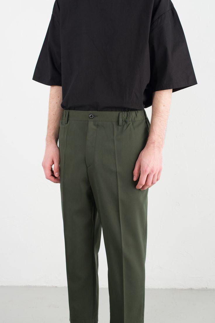 Olive - Menswear   H.W. Pant, Olive, £64.00 (https://www.oliveclothing.com/p-oliveunique-20170330-028-olive-menswear-h-w-pant-olive)