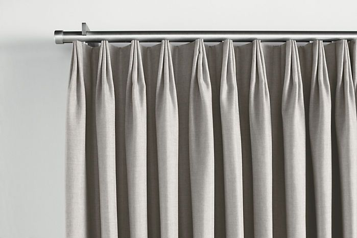 Pleated Curtains For Traverse Rods Decorative Double Travers