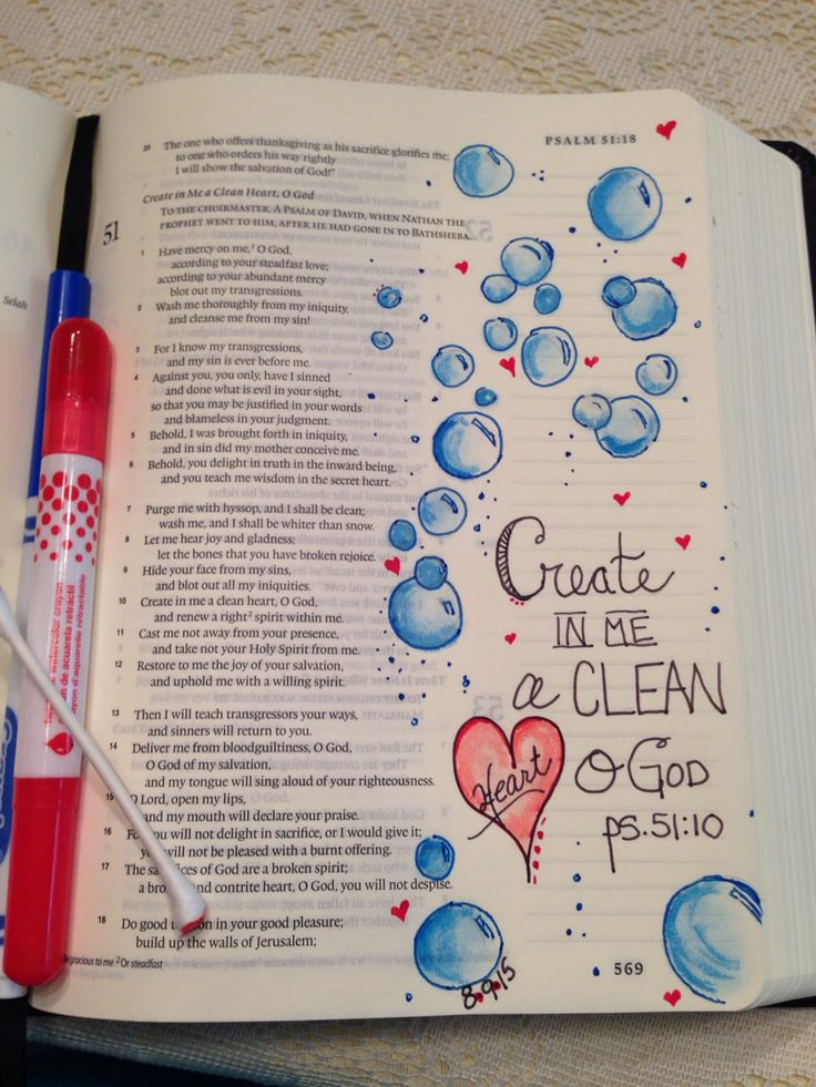"Psalm 51:10 ""Create in me a clean Heart O God"" (inspired by Patricia Jernigan)"