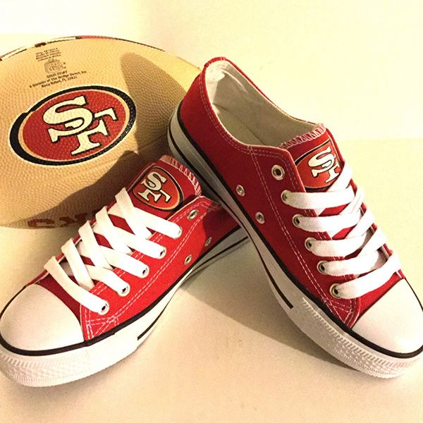 49ers converse shoes