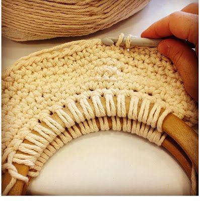 Lady Crochet Retro crochet summer bag FREE PATTERN