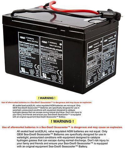 Sea Scooters 114236: Sea-Doo Sea Scooter Pro Extended Life Battery -> BUY IT NOW ONLY: $66.49 on eBay!