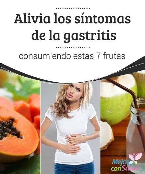 Alivia los síntomas de la #gastritis consumiendo estas 7 #frutas  Puesto que la gastritis puede tener diferentes #desencadenantes en cada persona también deberemos comprobar qué frutas son las que nos sientan mejor según nuestro caso particular #RemediosNaturales