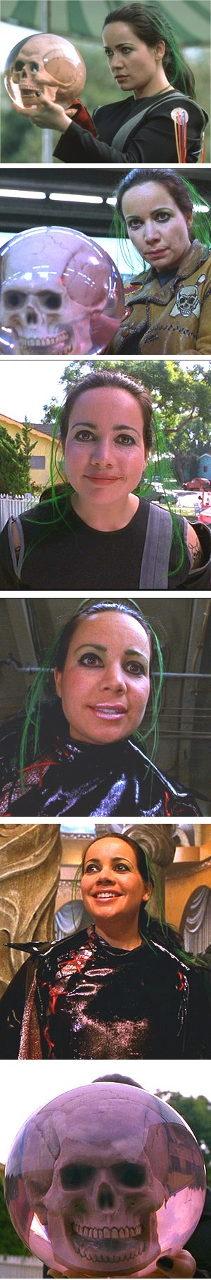 Janeane Garofalo as Bowler in Mystery Men (1999).