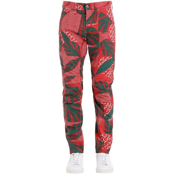 G-star By Pharrell Williams Men 5622 Elwood African Print Jeans (£125) ❤ liked on Polyvore featuring men's fashion, men's clothing, men's jeans, african camo, mens tapered jeans, mens camo jeans and mens jeans