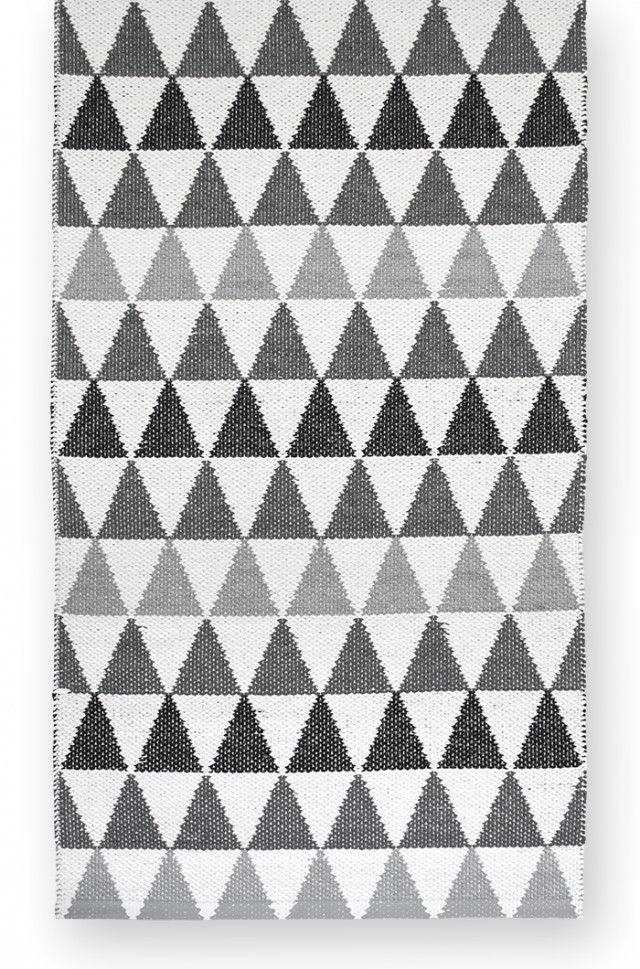 Tribus grey - Plastic rug 70x280cm