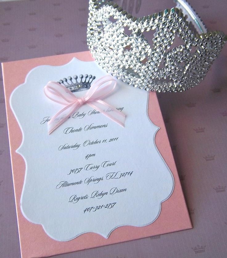 Pink Princess Invitation