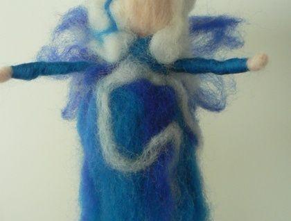 'Water Fairy' Needle felted fairy decoration