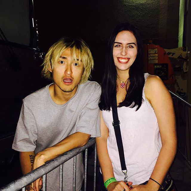 Ryota from One Ok Rock, super excited if you can tell #oneokrock