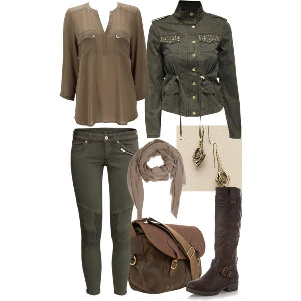 136 Best Images About My Polyvore Sets On Pinterest   Military Chic Wedge Heels And Outfit Sets