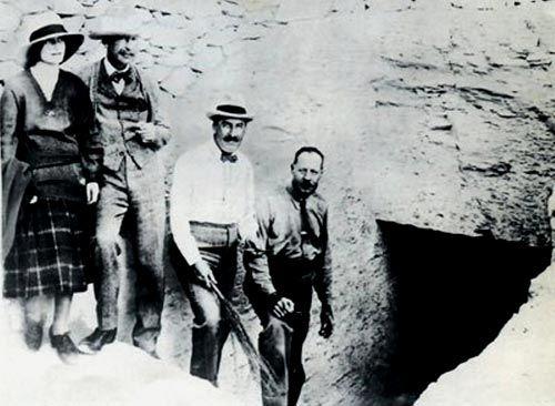 La expedición de Carter en el umbral de su hallazgo: la tumba de Tut