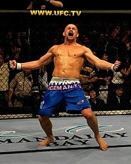 "Chuck "" The Iceman"" Liddell one of my  favs"
