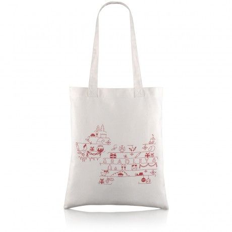 Christmas Pooch, Medium Tote