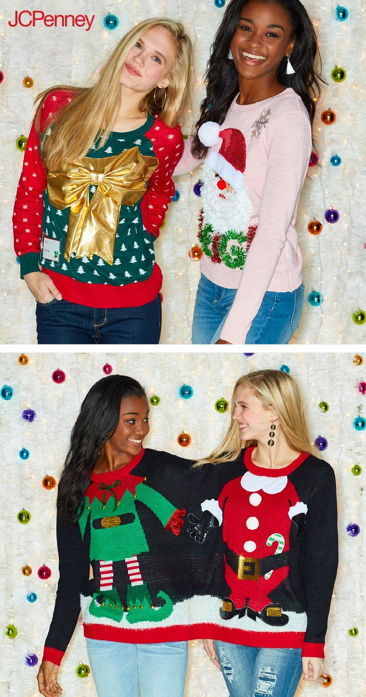 best 25 tacky christmas outfit ideas on pinterest tacky christmas diy ugly christmas sweater. Black Bedroom Furniture Sets. Home Design Ideas
