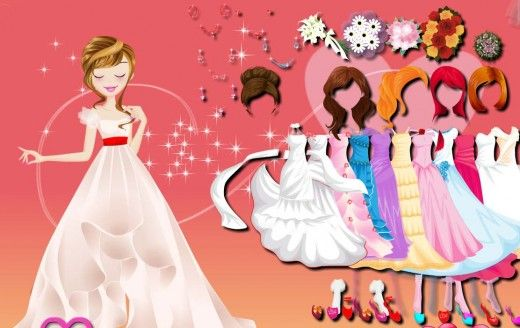 Now girls and also boys can play latest dress up games with latest features.