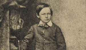 Willie Lincoln, Abe's third son.... was known to be his favorite because he had the same temperament as his father.           At age 11, in 1862, he died from typhoid fever.       Having lost a second son, Mary started her downward spiral into Crazytown.