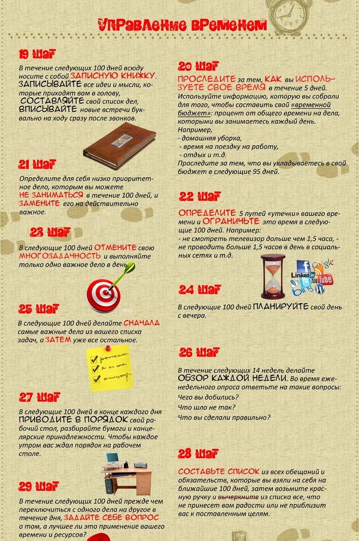 60 маленьких шагов к улучшению жизни за 100 дней в картинках