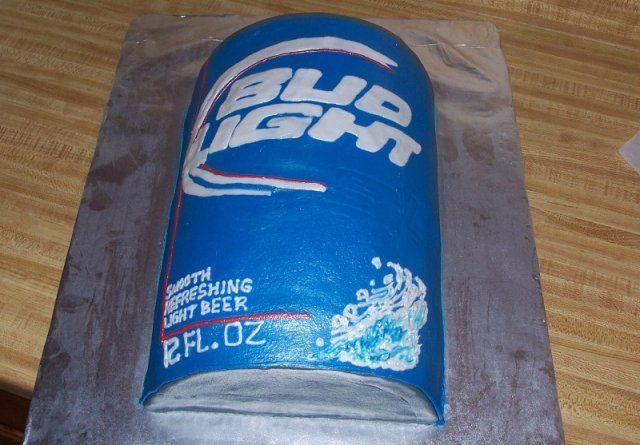 beer sheetcakes   bud light cake