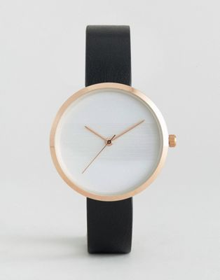 ASOS   ASOS Sleek Embossed Stripe Dial Watch
