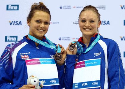 Diving: Sarah Barrow and Tonia Couch win silver at World Series