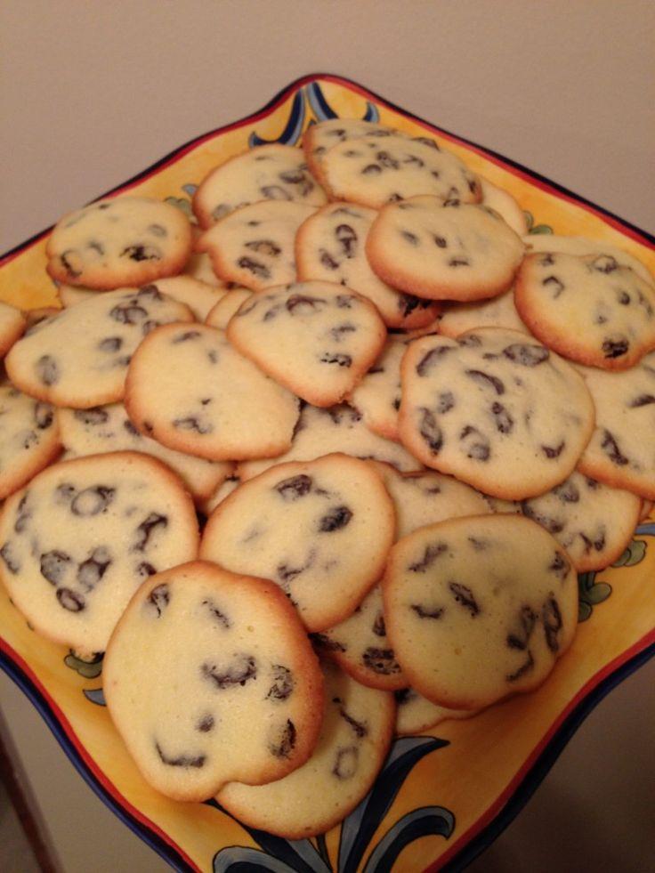 Rum Raisins Cookies-Traditional Romanian Recipe