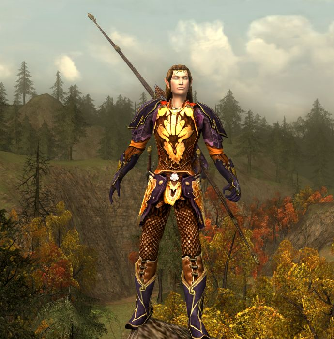 Cosmetic Lotro - Autumn Hunter