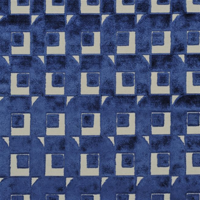 pugin - indigo fabric