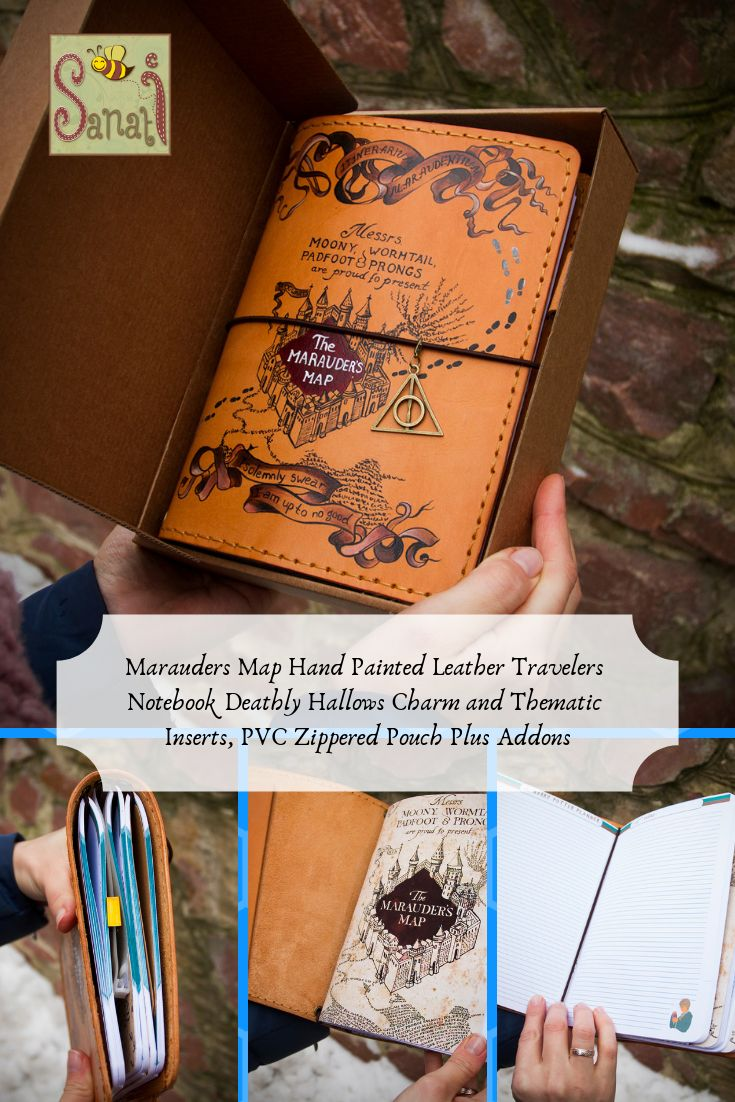 HARRY POTTER FANDOM Maradeurs Map
