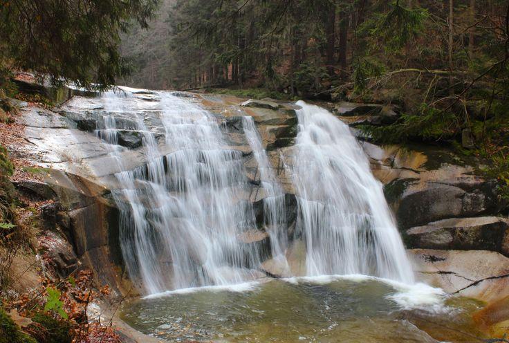 Mumlava waterfall Harrachov