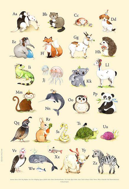 Alphabet print . ABC for nursery | Flickr - Photo Sharing!