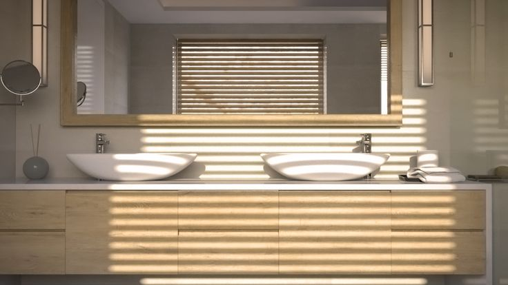 master bathroom - 3d rendering