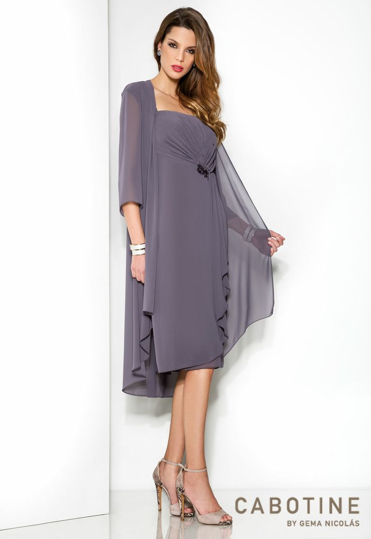 evening dresses knee length with sleeves