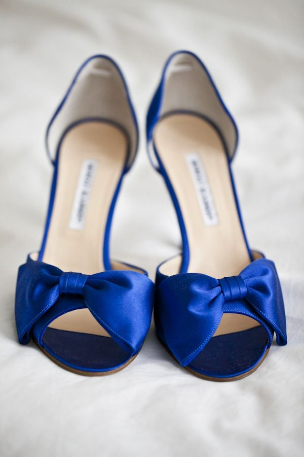 blue shoes manolo blahnik