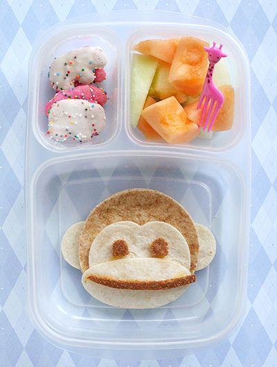 Cute lunch idea for kids.