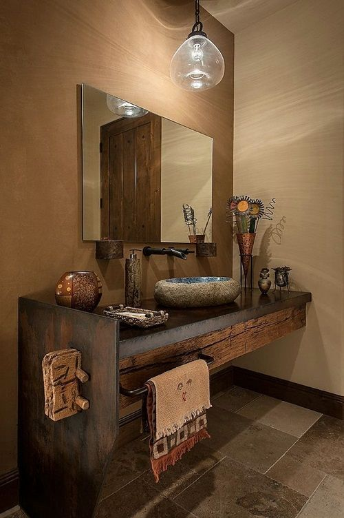 Il legno in bagno: protagonista assoluto #Wood in the #bathroom [10 unique projects]